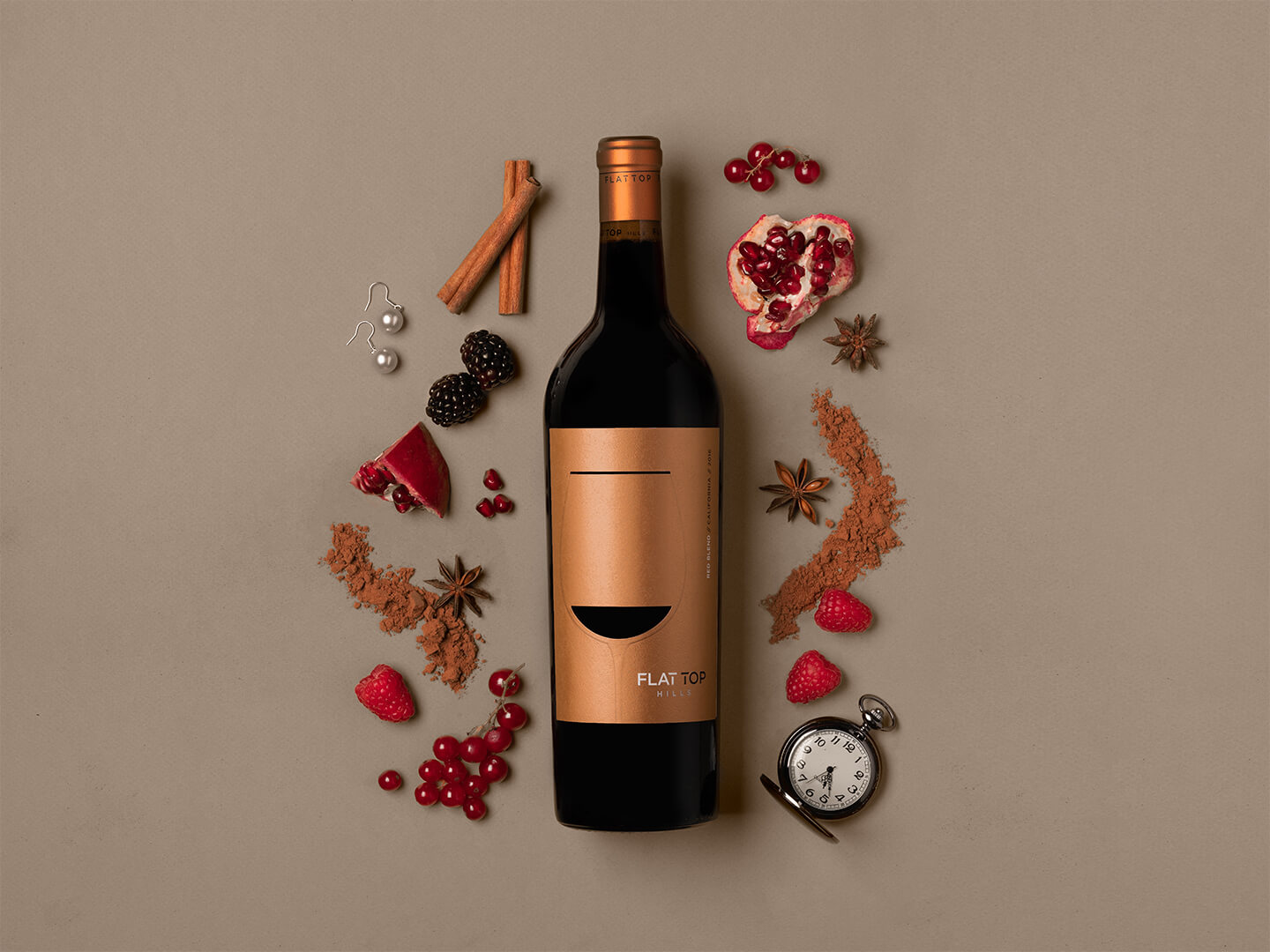 Flat Top Red Blend